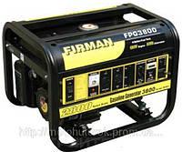 Генератор бензиновый FIRMAN SPG 3800 однофазный, мощность 2,5 кВт.