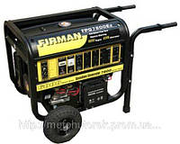 Генератор бензиновый FIRMAN FPG 7800E2 однофазный, с электростартером, мощность 5 кВт.