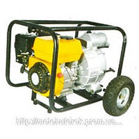 Мотопомпа FORTE FPTW30 бензиновая, мощность 6,5 л.с., производительность 450 л/мин., для грязной вод