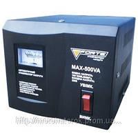 Стабилизатор напряжения FORTE MAX-500 однофазный, релейный, мощность 500 ВА