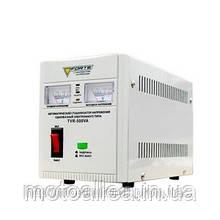 Стабилизатор напряжения FORTE TVR-500VA однофазный, релейный, мощность 500 ВА
