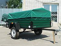 Прицеп Кремень Лев-19\183121(автоприцеп) к легковому автомобилю, с тентом, 1 ось, грузоподъемность 1,2 т