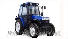Минитрактор ДТЗ 454 дизель, мощность 45 л.с. кабина с отоплением, полный привод, гидроусилитель руля - Мото-Аллея. Продажа сельхозтехники, мототехники и садовой техники в Днепре