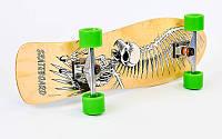 Лонгборд Лонгдистанс (скейтборд в сборе) LY-5363