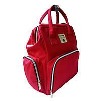 5000207 Сумка рюкзак для мамы классик красный