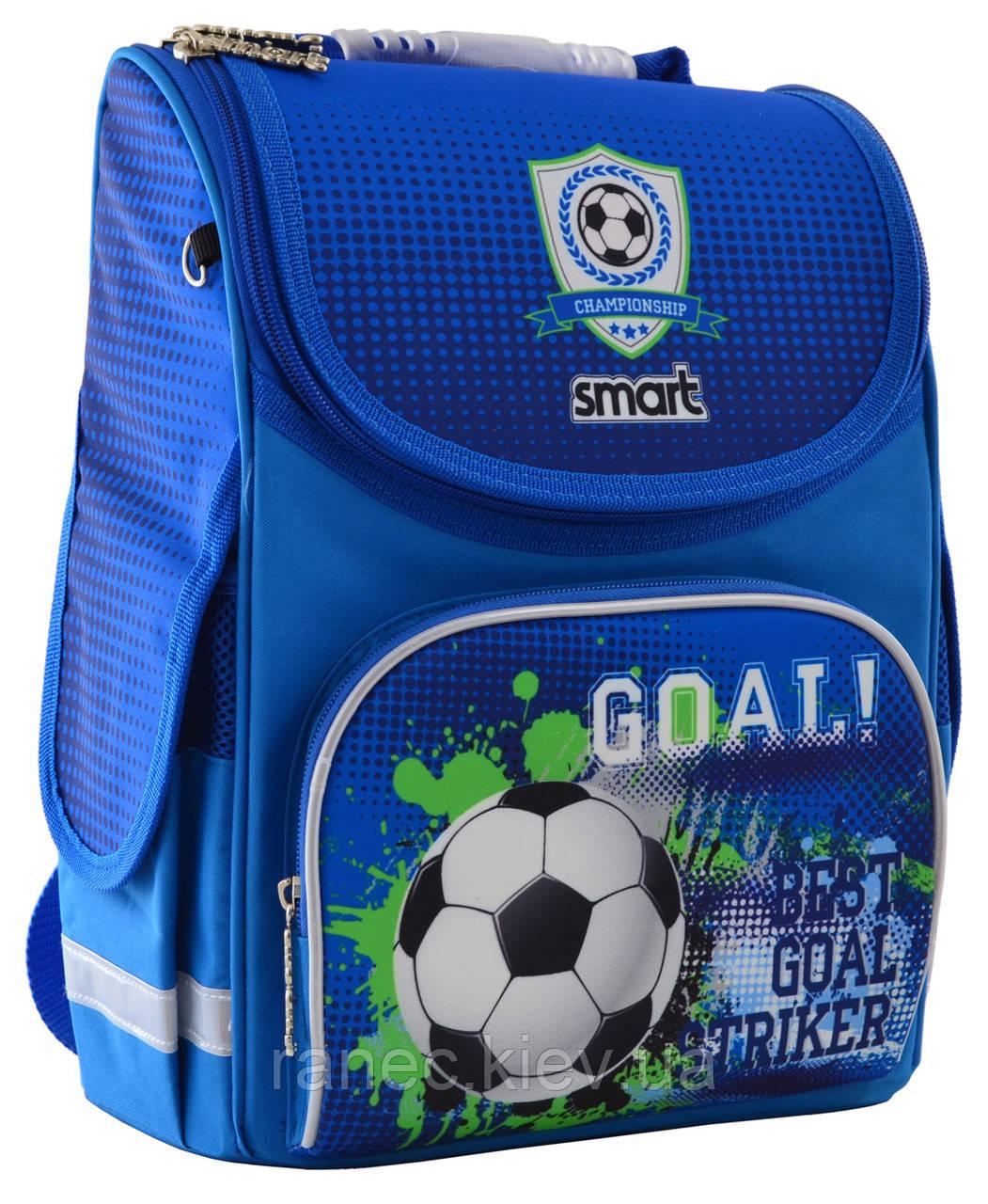 Рюкзак школьный каркасный 1 Вересня Smart PG-11 Goal для мальчика 555993