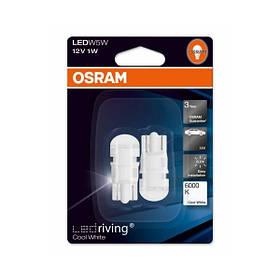 Светодиодные лампы Osram W5W T10 6000K