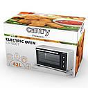 Электрическая печь духовка Camry CR 6007 обьем 42л мощность 1800вт, фото 3