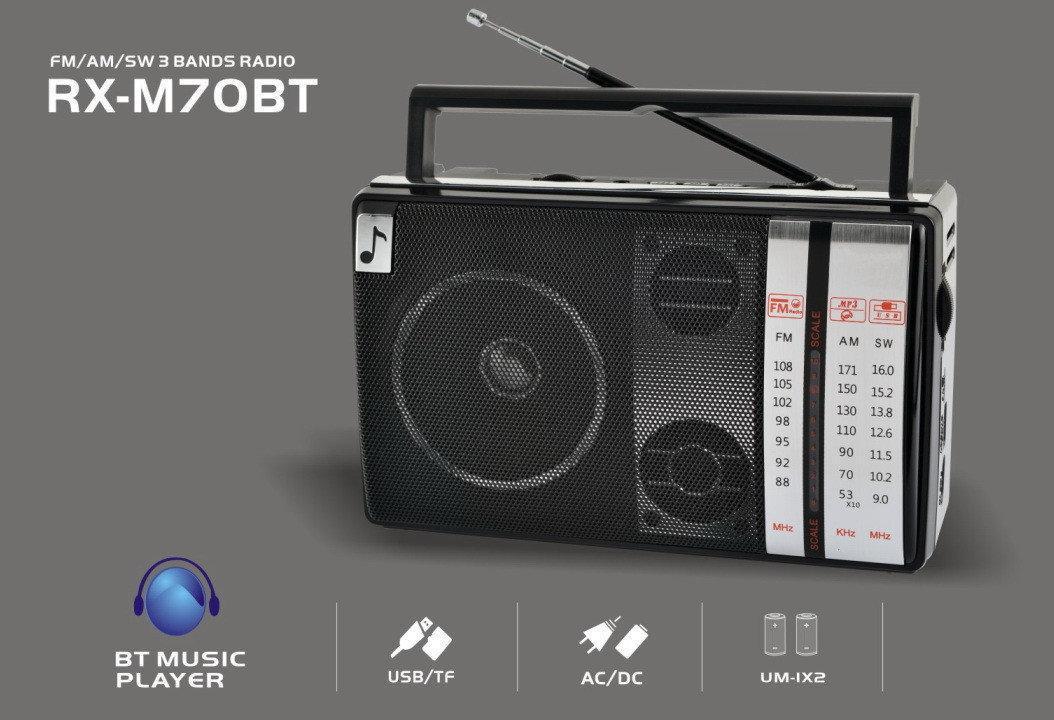 Радио RX M70BT