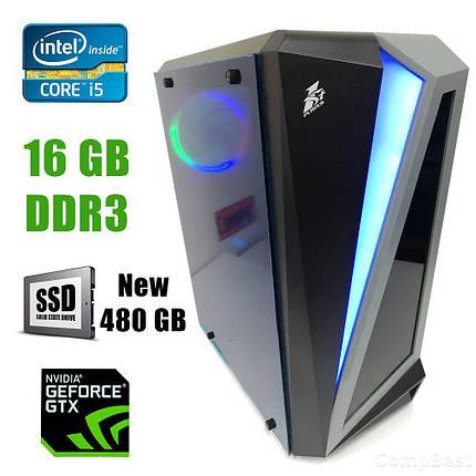 First Player ATX / Intel Core i5-3570 (4ядра по 3.40-3.80GHz) / 16GB DDR3 / new! 480GB SSD / GeForce GTX 1060 3GB DDR5 192bit / new! 1300W / HDMI,, фото 2