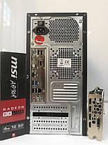 EuroCom ATX / AMD FX6100 (6 ядер по 3.3-3.9GHz) / 12GB DDR3 / new! 240GB SSD / Radeon RX470 4GB DDR5 256bit / new! 1300W / HDMI, DVI, DP, USB 3.0, фото 3