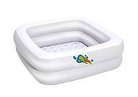 Bestway 51116, надувной детский бассейн 86х86х25 см, фото 1