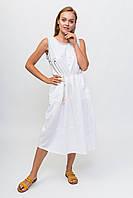 Летнее платье made with love for My Luna - белый цвет, L (есть размеры), фото 1