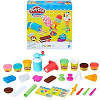 Набор для творчества Плей-До Создай любимое мороженое Play-Doh Kitchen Creations Frozen Treats