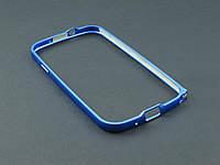 Бампер металл для Samsung Galaxy S3 I9300i синий