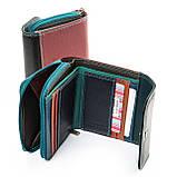 Яркий женский кошелек из натуральной кожи Rainbow ТМ DR. BOND, фото 2
