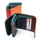 Яркий женский кошелек из натуральной кожи Rainbow ТМ DR. BOND, фото 6