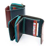 Яркий женский кошелек из натуральной кожи Rainbow ТМ DR. BOND, фото 8
