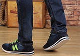 Кроссовки New Balance black jeans реплика размер 40,5 (26,7 см), фото 5