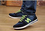 Кросівки New Balance blue jeans репліка розмір 39,5 (26,3 см), фото 2