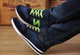 Кроссовки New Balance blue jeans реплика размер 39,5 (26,3 см), фото 3