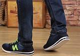 Кросівки New Balance blue jeans репліка розмір 39,5 (26,3 см), фото 4