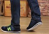 Кроссовки New Balance blue jeans реплика размер 40,5 (26,7 см), фото 4