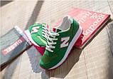 Кроссовки New Balance 574 green реплика размер 35,5 (23 см), фото 5