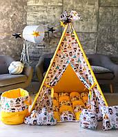 """Детская палатка - вигвам Mini Я """"Легенды индейцев"""""""