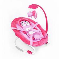 Детский шезлонг-качалка (розовый) BT-BB-0002PIN Baby Tilly (TC049312)