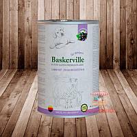 Консерва для щенков Baskerville Баскервиль Ягненок и смородина, 400г