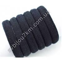 """Резинка для волос микрофибра черная оптом """"Microfiber Hair Band"""""""