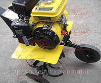 Мотоблок (мотокультиватор) Файтер GHA 35 бензиновый, мощность 3,5 л.с., прополочный культиватор, ременной