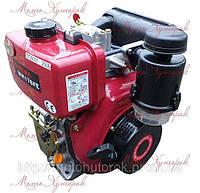 Двигатель дизельный Weima WM 178FE, с электростартером, шпоночный тип, мощность 6 л.с., фото 1
