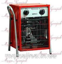Электрический обогреватель GRUNHELM GPH-3, мощность 3 кВт, прямой нагрев
