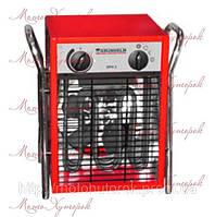 Электрический обогреватель GRUNHELM GPH-5, мощность 5 кВт, прямой нагрев, трехфазный