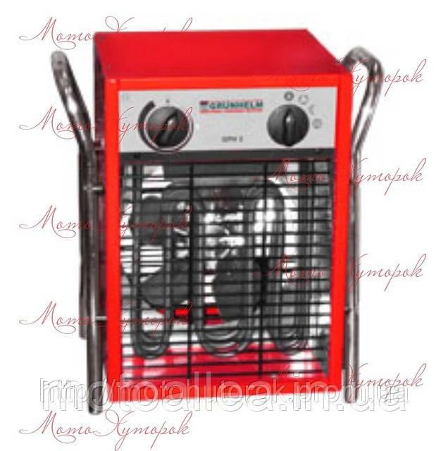 Электрический обогреватель GRUNHELM GPH-22, мощность 22 кВт, прямой нагрев, трехфазный