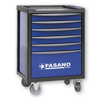 Тележка инструментальная на 5-7 секций Fasano FG 100 (5 секций, Синий, FG 100B/5T)
