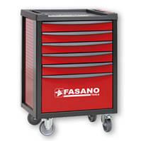 Тележка инструментальная на 5-7 секций Fasano FG 100 (5 секций, Красный, FG 100TR/5T)