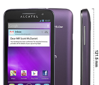 Бронированная защитная пленка для экрана Alcatel One Touch M'Pop 5020/5020D