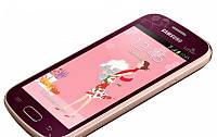 Бронированная защитная пленка на экран для Samsung Galaxy Trend (La Fleur)