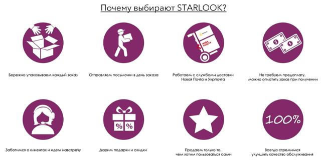 STARLOOK о нас