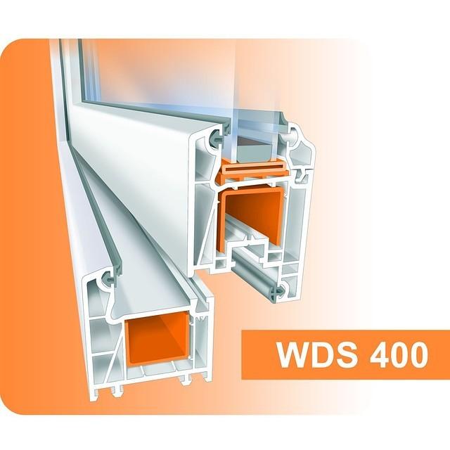 Металлопластиковые окна WDS 400, Харьков