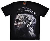 Футболка Man With Tattoos On Face (светится в темноте), Размер M