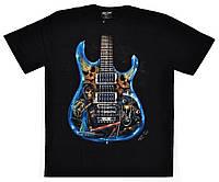 Футболка Painted Guitar (светится в темноте), Размер L