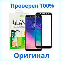 Защитное стекло Optima 3D Samsung A600 Galaxy A6 2018 черное