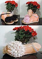 Женские сандалии римлянки в романтическом стиле. Силиконовые босоножки.