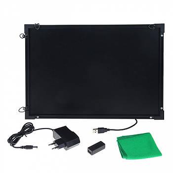 Флуоресцентная доска Fluorecent Board 3040 с фломастером и салфеткой