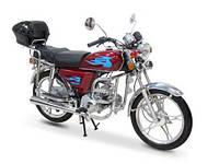 Мотоцикл Альфа 50, объем двигателя 49,9 см.куб.
