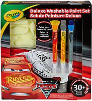 Набор многоразовых раскрасок с красками Тачки-3 (31 предмет), Crayola